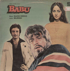 Babu 1985 Bollywood Vinyl LP