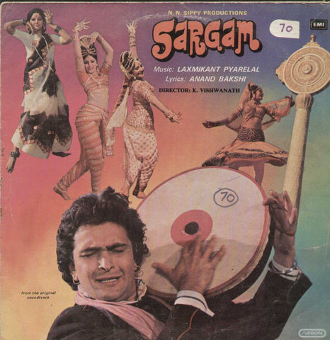 Sargam 1979 Bollywood Vinyl LP