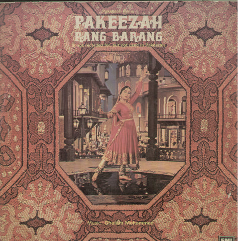 Pakeezah Raga Barang 1970 - Hindi Bollywood Vinyl LP