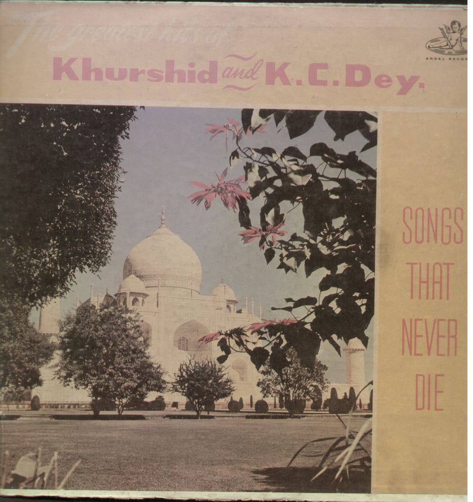 The Greatest Hits of Khurshid and K.C.Dey - Hindi Bollywood Film Vinyl LP