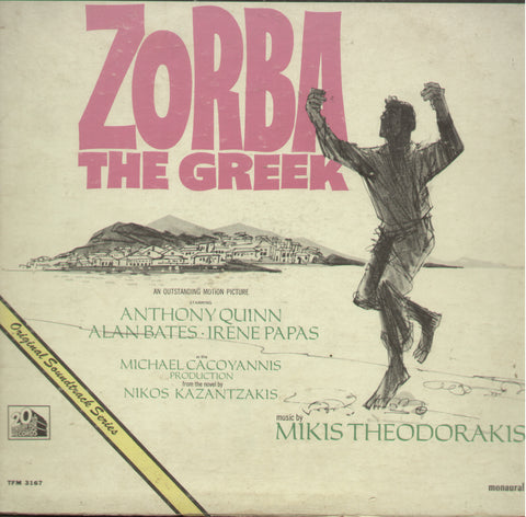 Zorba The Greek  - English Bollywood Vinyl LP