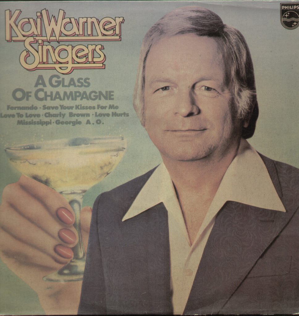 Kai Warner Singers A Glass Champagne - English Bollywood Vinyl LP