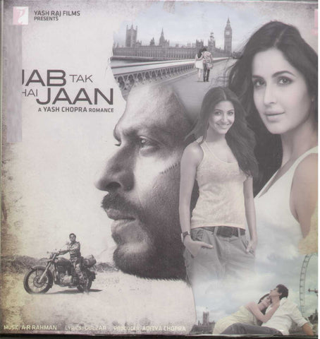 Jab Tak Hai Jaan - Hindi Bollywood Vinyl LP - Brand New
