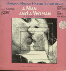 A Man And A Women - English Bollywood Vinyl LP
