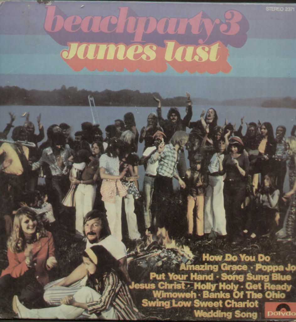 Beach Party3 James Last - English Bollywood Vinyl LP