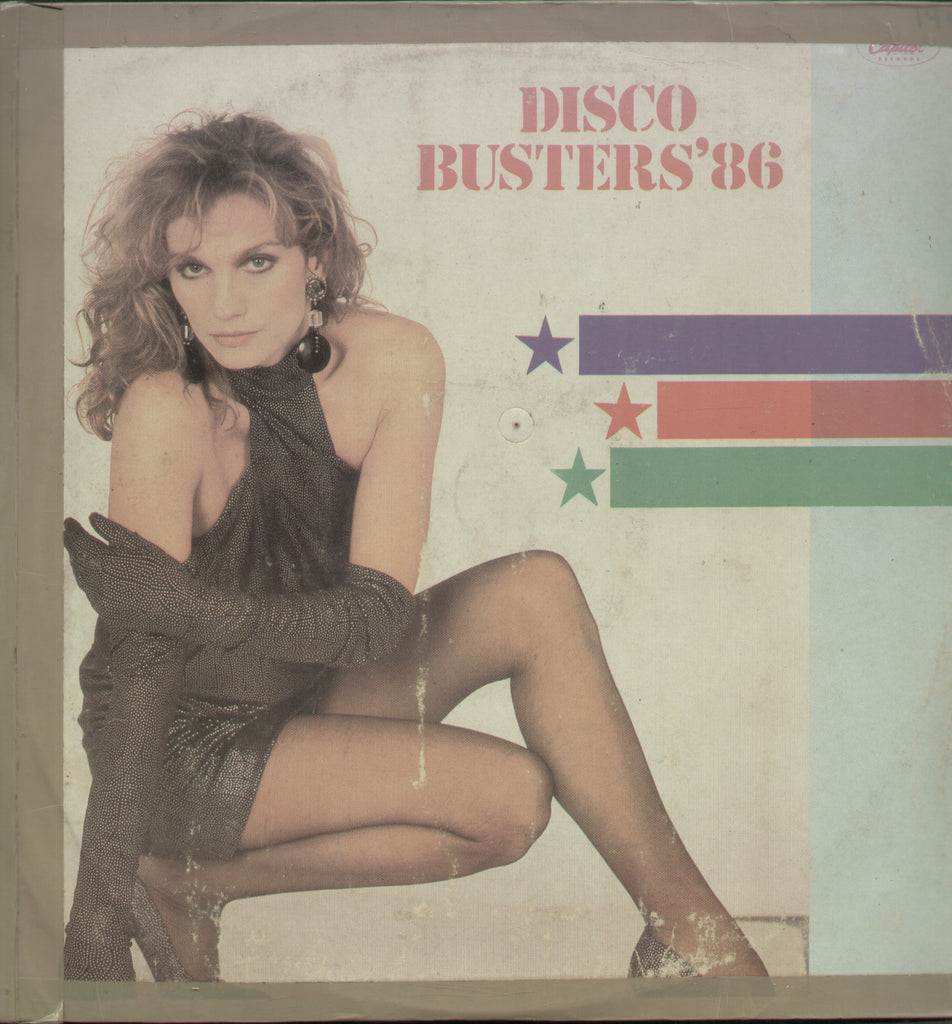 Disco Busters' 86 - English Bollywood Vinyl LP