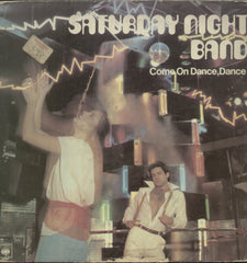 Saturday Night Band Come On Dance, Dance - English Bollywood Vinyl LP