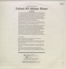 Ustad Ali Akbar Khan - Bollywood Vinyl LP