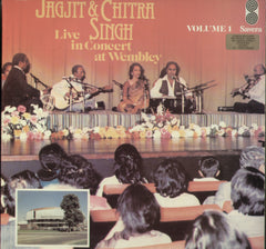 Jagjit & Chitra Singh Live in Concert at Wembley Volume 1 - Bollywood Vinyl LP