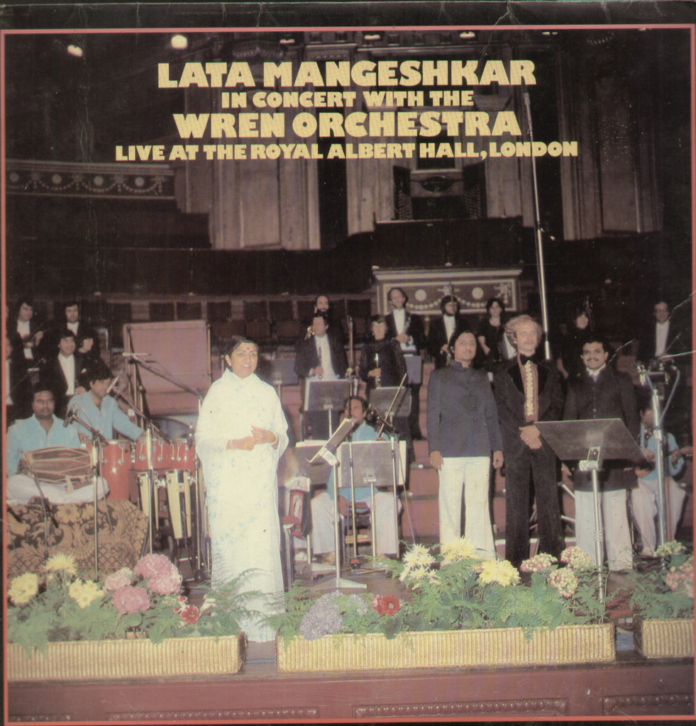 Lata Mangeshkar In Concert with WREN Orchestra - Bollywood Vinyl LP