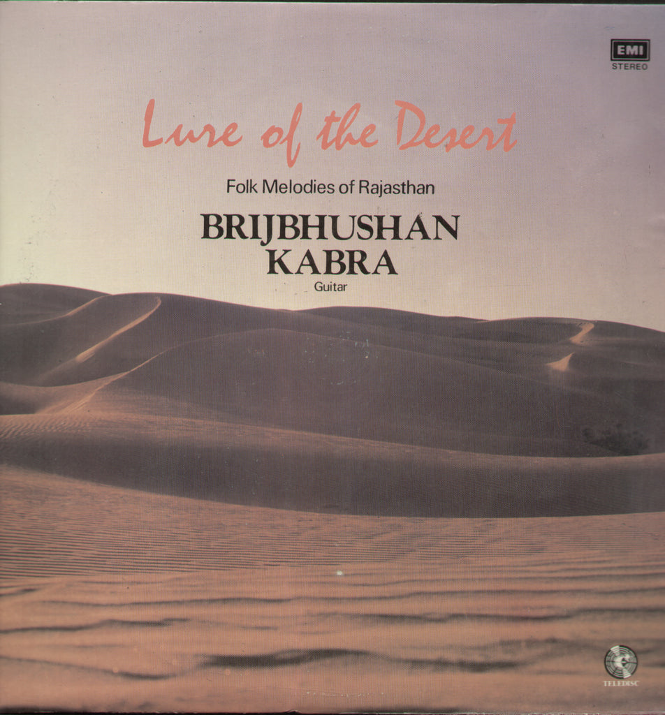 Brij Bhushan Kabra - Lure of the Desert - Classical Boolywood Vinyl LP