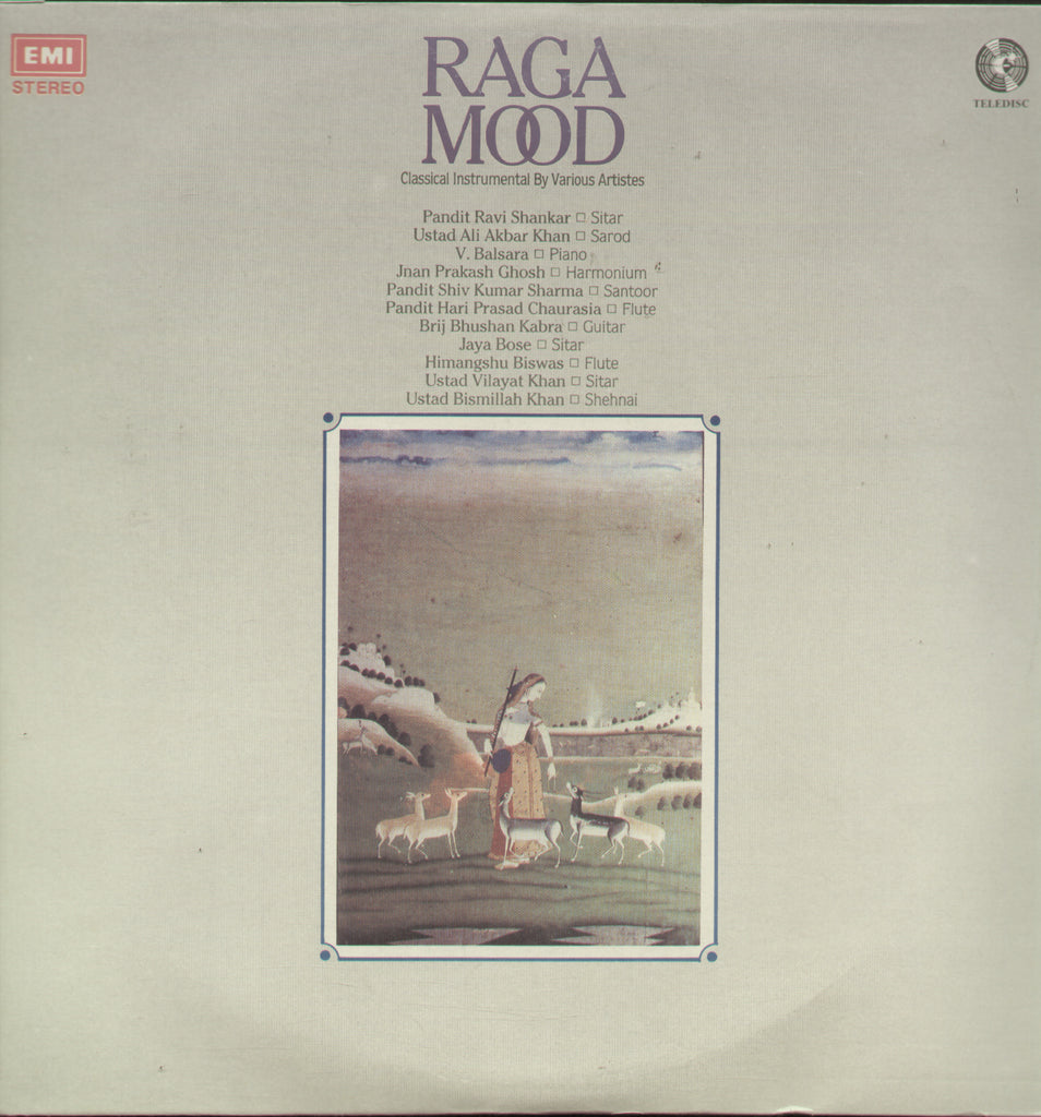 Raga Mood - Classical Bollywood Vinyl LP