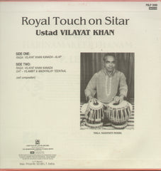 Vilayat Khan - Royal Touch - Classical Bollywood B Vinyl LP