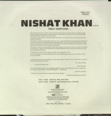 Nishat Khan - Sitar - Classical Bollywood Vinyl LP