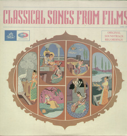 Classical Songs From Films Vol 2 - Classical Bollywood Vinyl LP