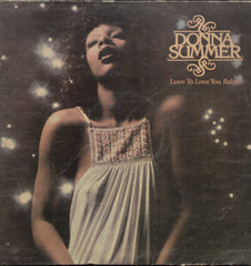 Donna Summer Love To Love You Baby - English Bollywood Vinyl LP
