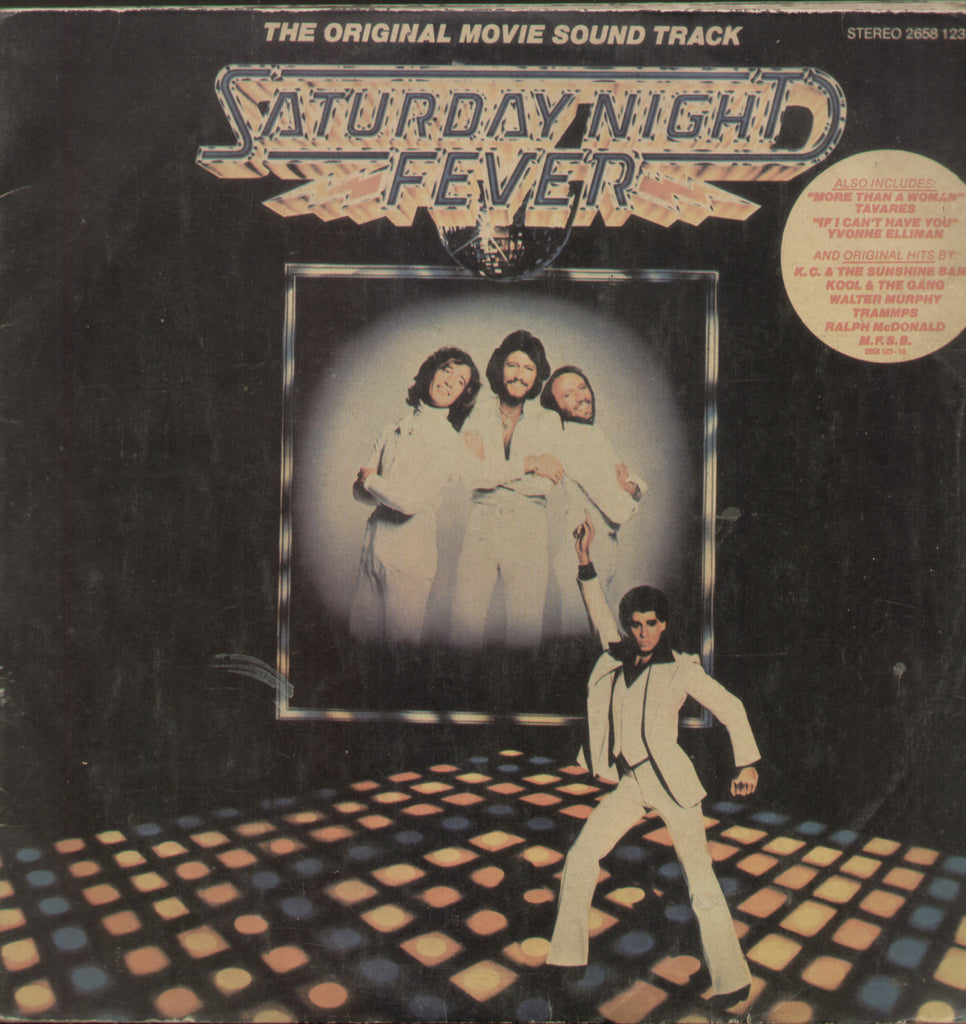 Saturday Night Fever 1977 - English Bollywood Vinyl LP