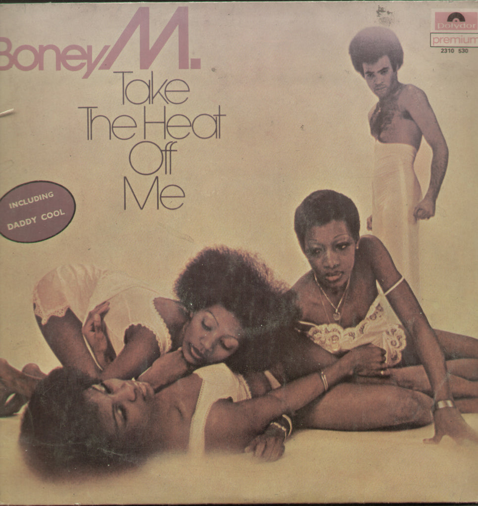 Boney M. Take The Heat off Me 1970 - English Bollywood Vinyl LP