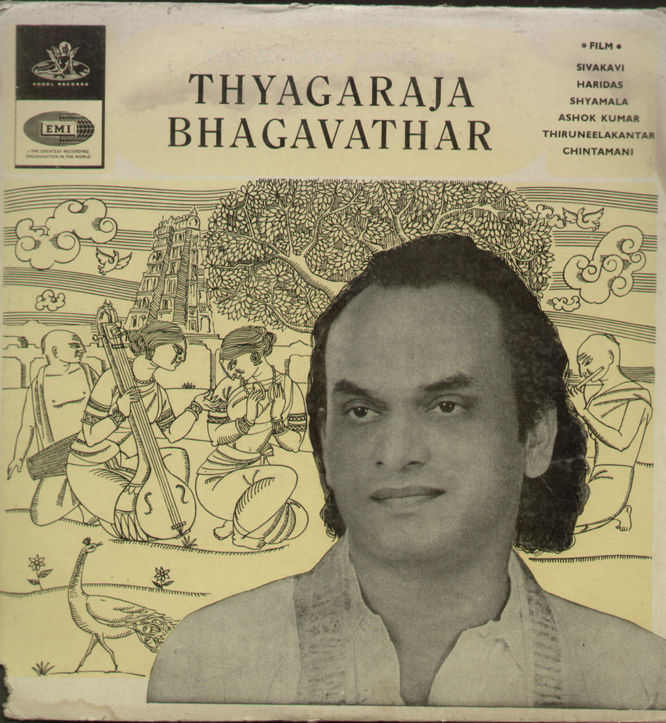The Golden Voice Of Thyagaraja Bhagavathar - Compilations Bollywood Vinyl LP