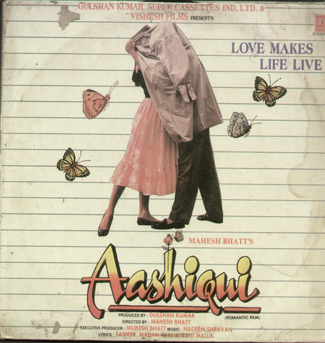 Aashiqui 1990 - Hindi Bollywood Vinyl LP
