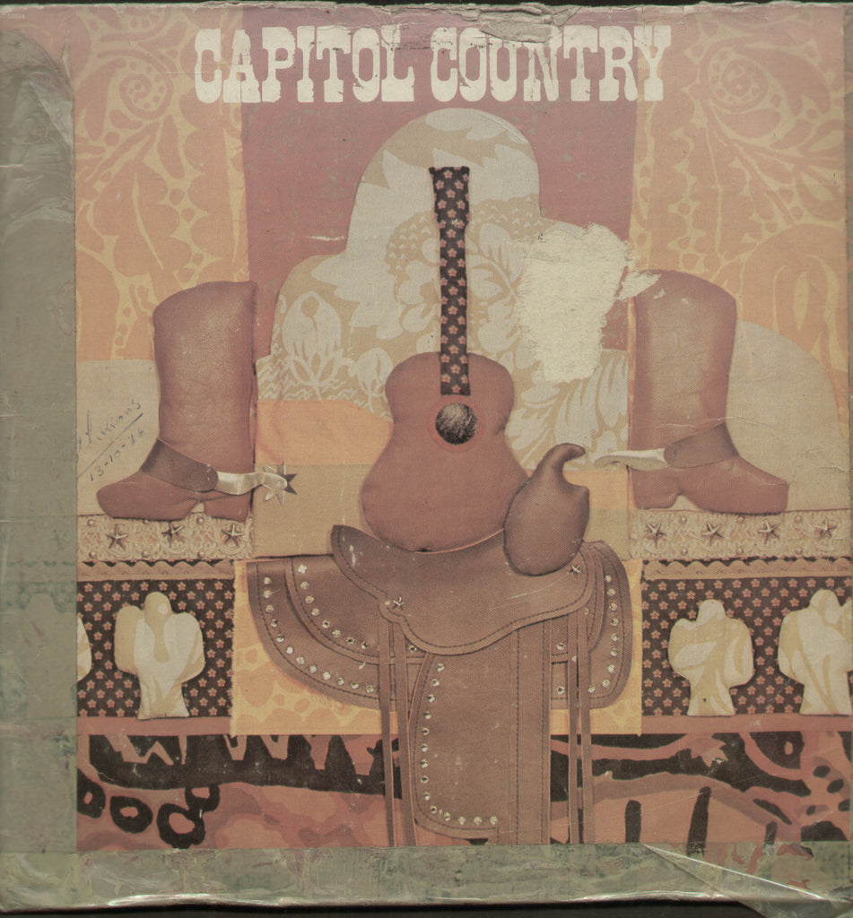 Capitol Country - English Bollywood Vinyl LP