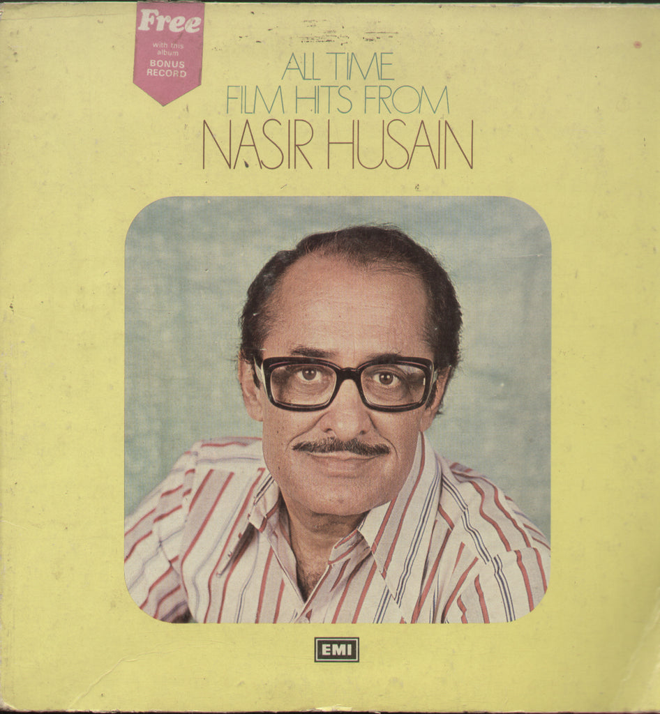All Time Films Hits From Nasir Husain - Hindi Bollywood Vinyl LP