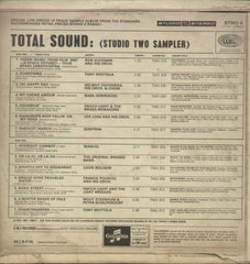 Total Sound - English Bollywood Vinyl LP