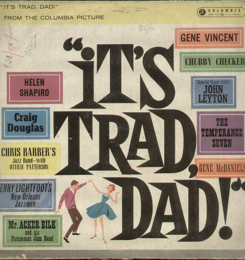 Its Trad Dad - English Bollywood Vinyl LP