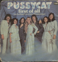 Pussycat First Of All Including: Georgie- Mississippi - English Bollywod Vinyl LP