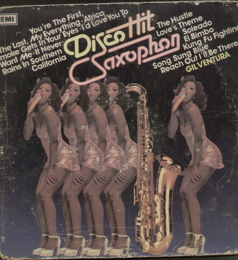Disco Hit Saxophone - English Bollywood Vinyl LP
