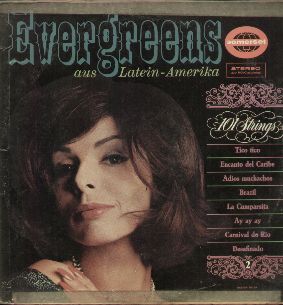 Evergreens aus Latein - Amerika - English Bollywood Vinyl LP