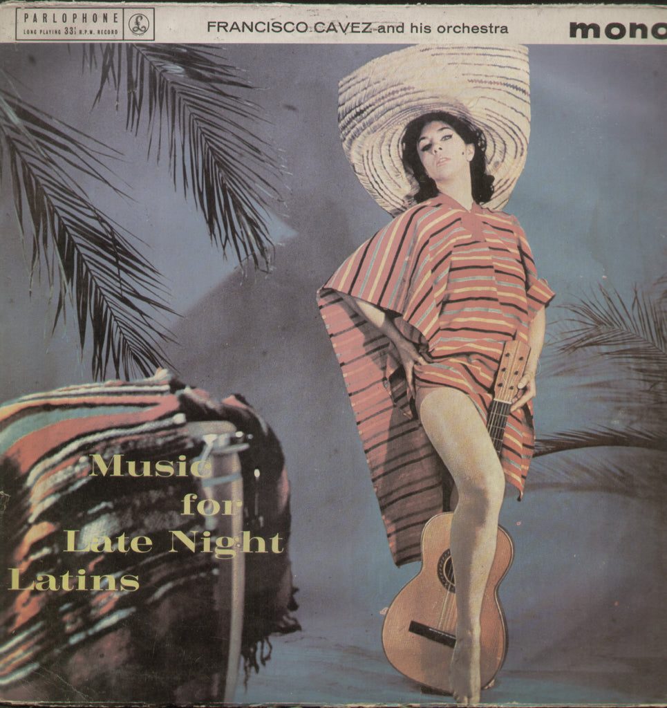 Music for Late Night Latins - English Bollywood Vinyl LP