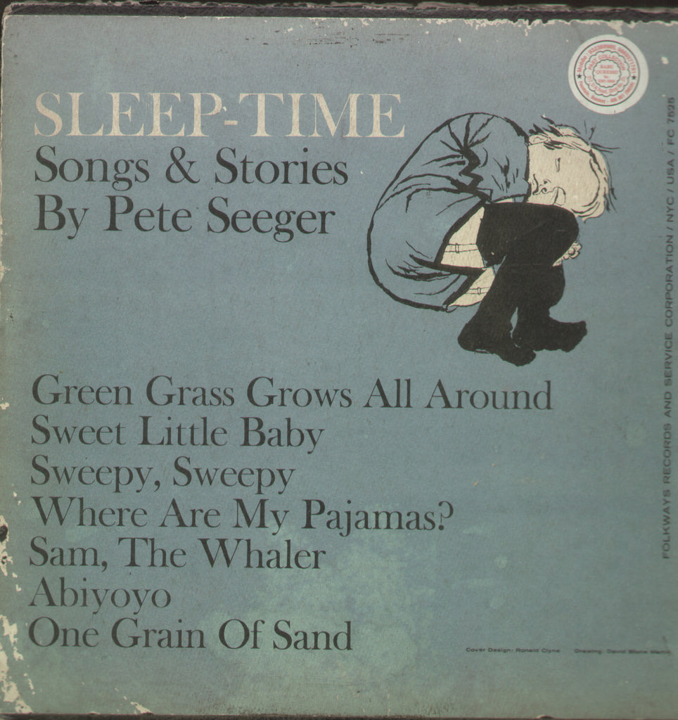 Sleep - Time Songs & Stories By Pete Seeger - English Vinyl LP