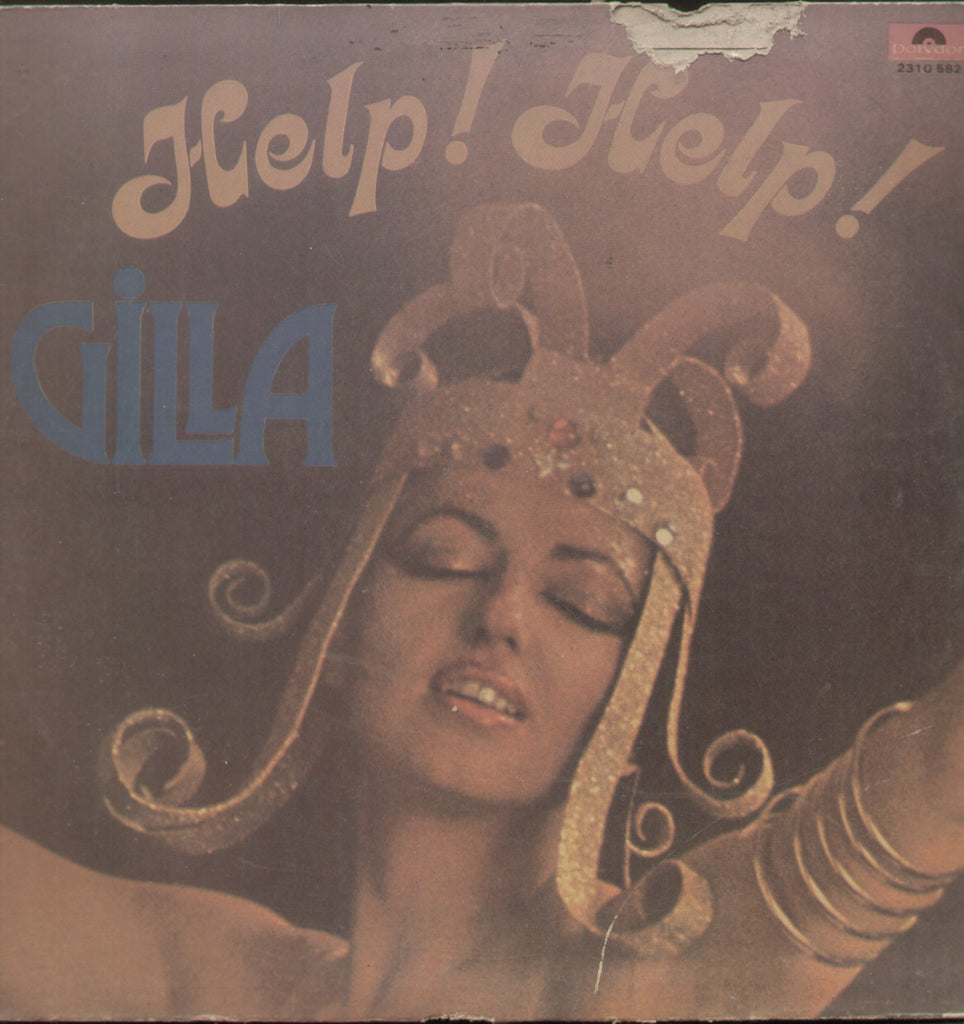 Help Help Gilla 1970 - English Bollywood Vinyl LP