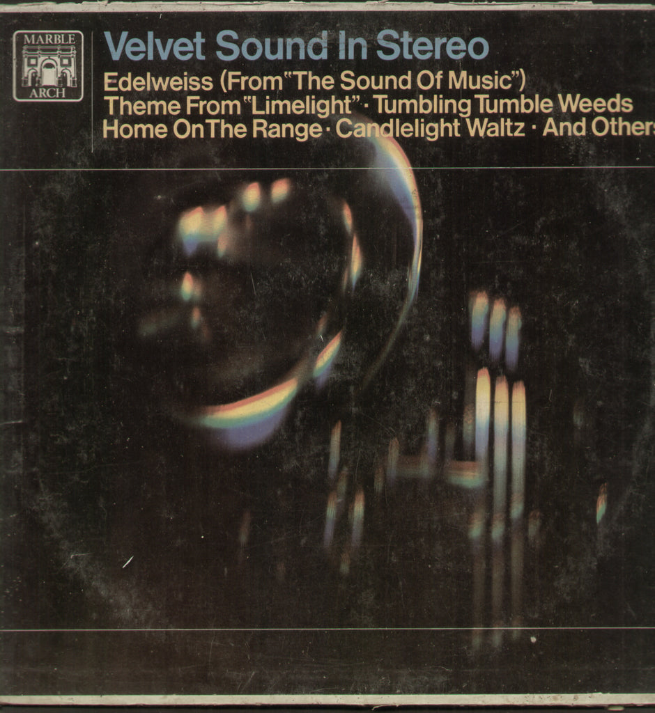 Velvet Sound in Stereo - English Bollywood Vinyl LP