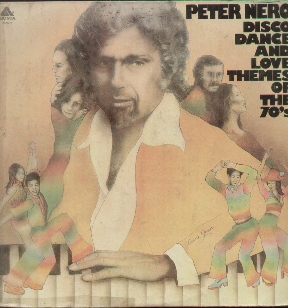 Peter Nero Disco, Dance And Love Themes Of The 70's - English Bollywood Vinyl LP