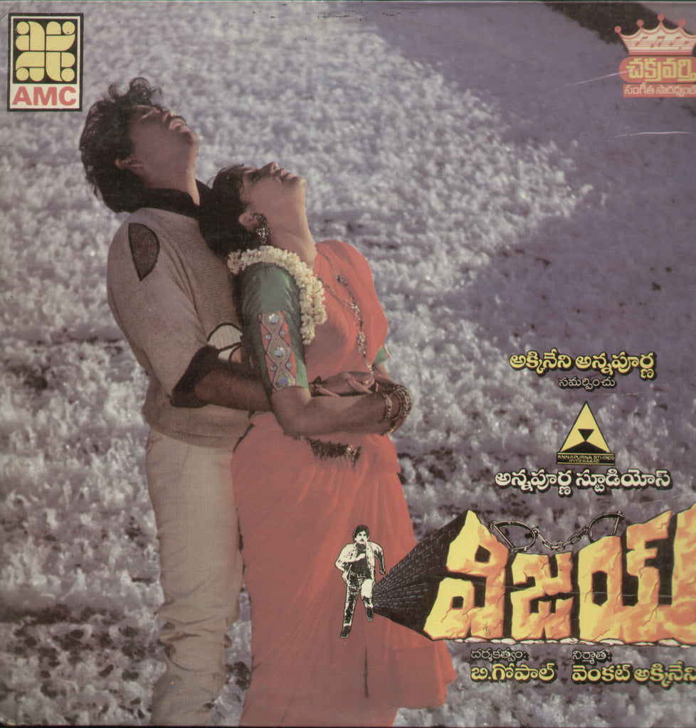 Vijay - Telugu Bollywood Vinyl LP
