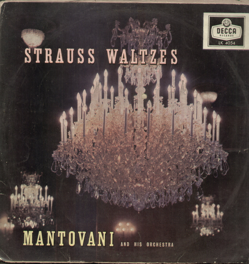 Strauss Waltzes Mantovani And His Orchestra - English Bollywood Vinyl LP