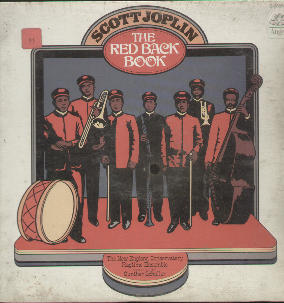 Scott Joplin - The Red Back Book - English Bollywood Vinyl LP
