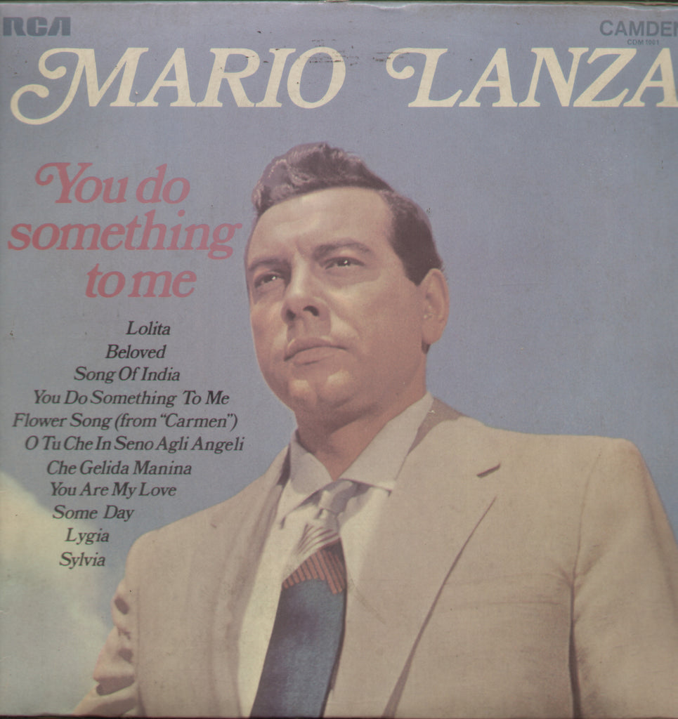 Mario Lainza You do Something to Me - English Bollywood Vinyl LP