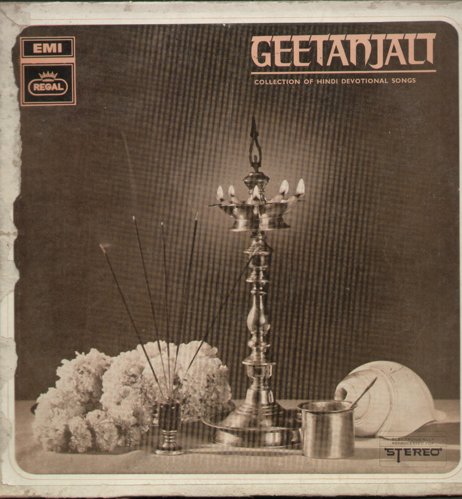 Geetanjali Collection of  Hindi Devotional Songs - Hindi Bollywood Vinyl LP