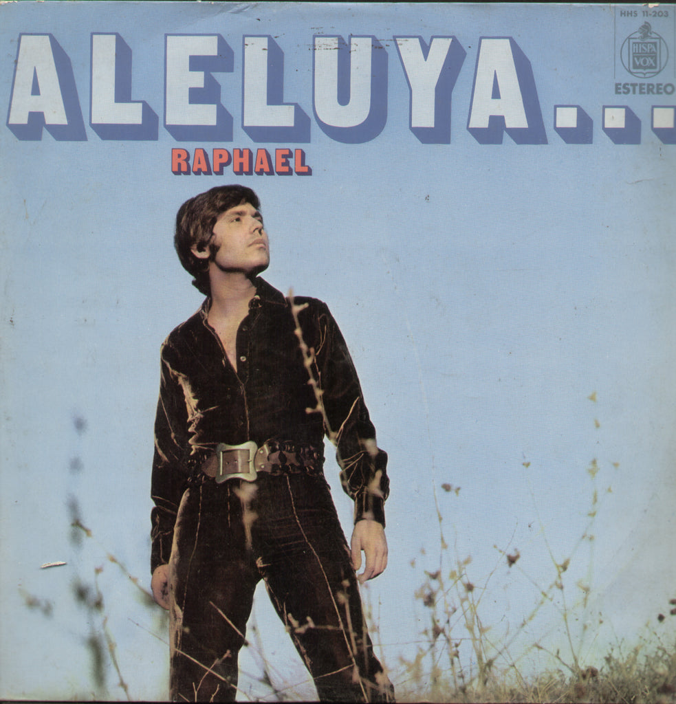 Aleluya Raphael - English Bollywood Vinyl LP