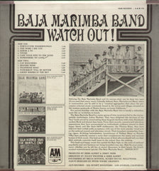 Baja Marimba Bano Watch Out - English Bollywood Vinyl LP