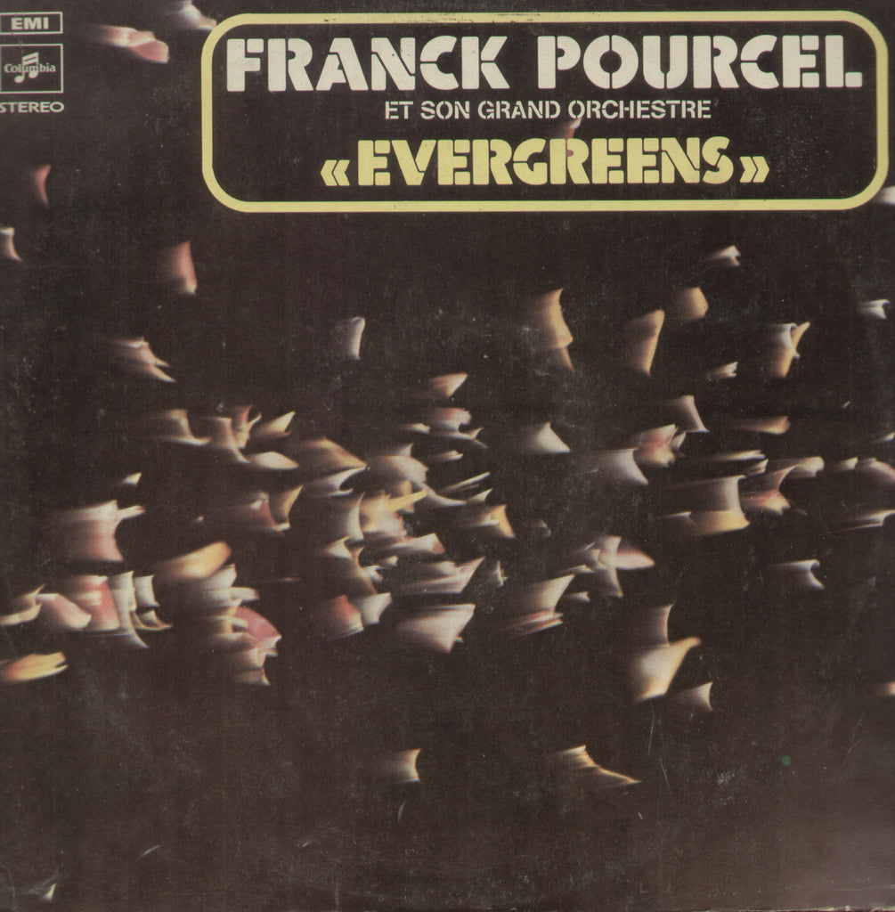 Frank Pourcel En Son Grand Orchestra - English Bollywood Vinyl LP