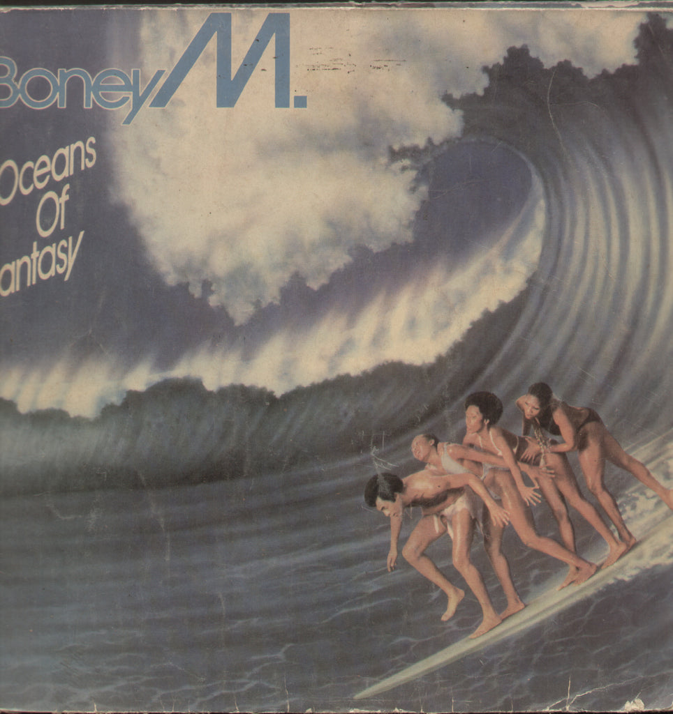 Boney M. Oceans Of Fantasy - English Bollywood Vinyl LP