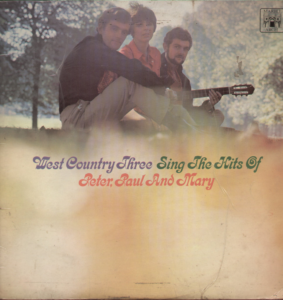 West Country Three Sing The Hits of Peter, Paul and Mary - English Bollywood Vinyl LP