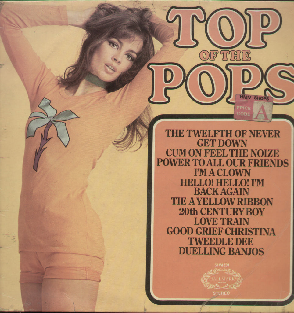 Top Of The Pops Vol. 30 - English Bollywood Vinyl LP