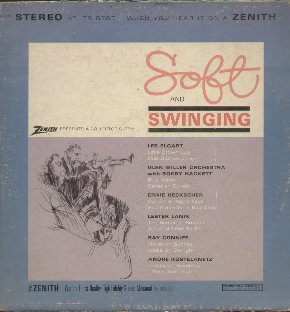 Soft and Swinging - English Bollywood Vinyl LP