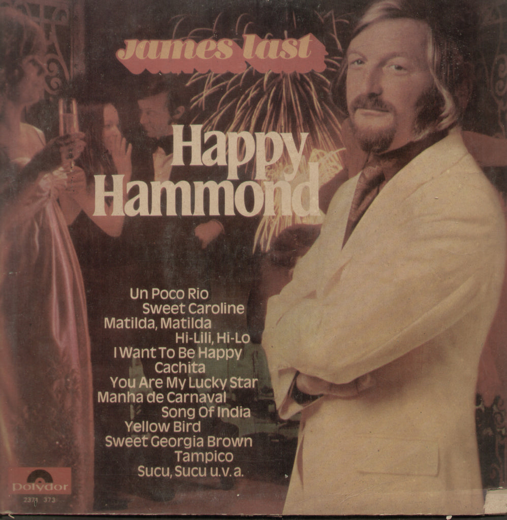 James Last Happy Hammond - English Bollywood Vinyl LP