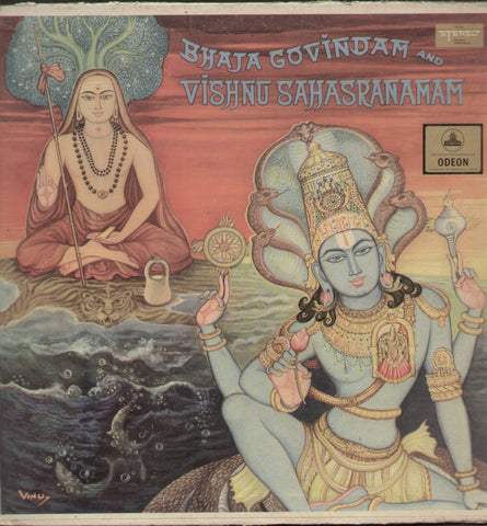 Bhaja Govindam And Vishnu Sahasranamam - Devotional Bollywood Vinyl LP